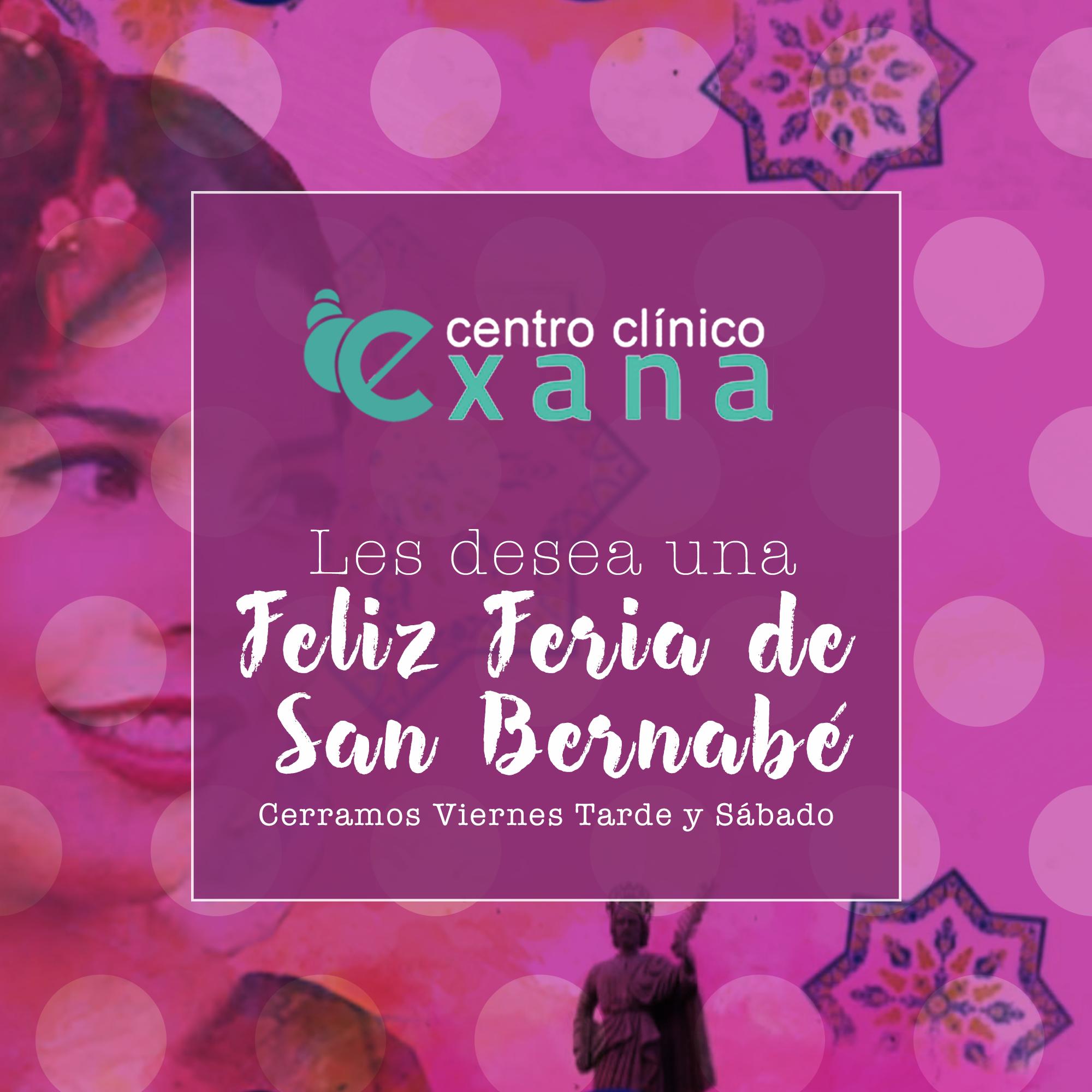 Exana Les desea una Feliz Feria de San Bernabé