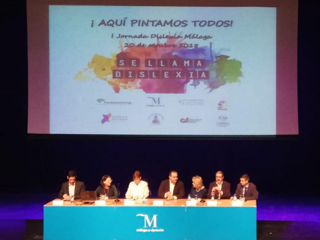 """acudimos a las """"I jornadas de Dislexia"""" organizadas por Dismalaga (Asociación de Dislexia de Málaga)"""