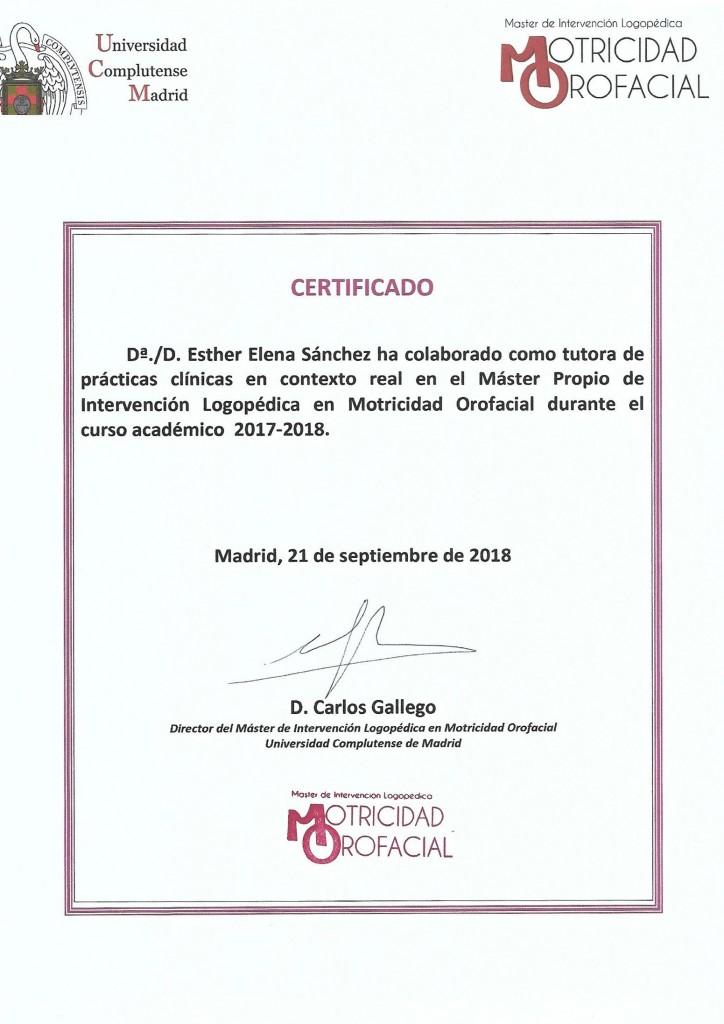 Colaboración con Universidad Complutense de Madrid