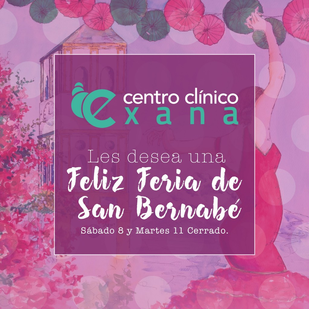 El equipo de Exana les desea Feliz Feria de San Bernabé 2019